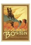 Boston, Massachusetts Art by  Anderson Design Group