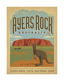 Ayers Rock, Australia Posters by  Anderson Design Group