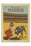Madrid, Espagne Posters par  Anderson Design Group