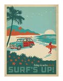 Nothing Else Matters When The Surf's Up! Posters by  Anderson Design Group