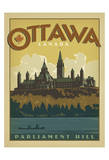 Ottawa, Canada Posters af Anderson Design Group
