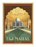 Taj Mahal, India Póster por Anderson Design Group
