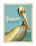 The Pelican Seaside Pub Affiches par  Anderson Design Group