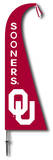 NCAA Oklahoma Sooners Feather Flag Flag