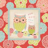 Owl 2 Frame Prints by Stephanie Marrott