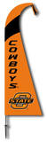 NCAA Oklahoma State Cowboys Feather Flag Flag