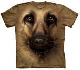 Youth: German Shepherd Face Shirts