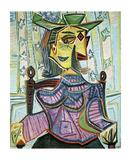 Seated Portrait of Dora Maar Pósters por Pablo Picasso