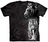 Youth: White Tiger Stripe T-Shirt