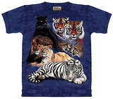 Youth: Big Cat Collage T-Shirt