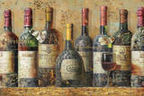 Wine Collection I Posters