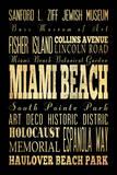 Miami Beach Florida I Prints by Helen Chen