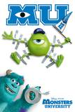 Monsters University (Tape) Posters