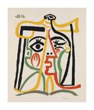 Tete de femme Póster por Pablo Picasso
