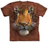 Youth: Tiger Face T-shirts