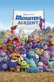 Monsters University (Academy) Print
