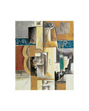 Violin and Guitar Poster van Pablo Picasso