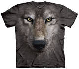 Youth: Wolf Face Tshirts