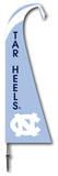 NCAA North Carolina Tar Heels Feather Flag Flag