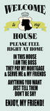 Welcome to My House Posters by Helen Chen