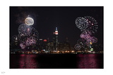 Fireworks on the Skyline Photographic Print by Nigel Barker
