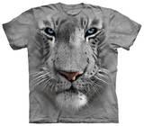 Youth: White Tiger Face Koszulka