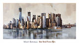 New York From Afar Prints by Marti Bofarull