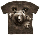 Youth: Bear Eyes T-shirts