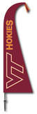 NCAA Virginia Tech Hokies Feather Flag Flag