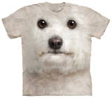 Youth: Bichon Frise Face T-shirts