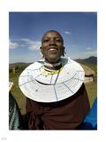 Maasai Joy Photographic Print by Nigel Barker