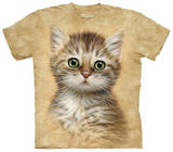 Youth: Brown Striped Kitten T-shirts