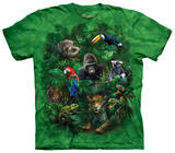 Youth: Jungle Friends T-shirts