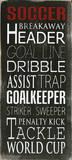 Fotball Posters av Holly Stadler