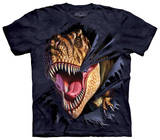 Youth: T-Rex Tearing T-shirty