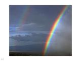 Rainbow over Tanzania Photographic Print by Nigel Barker