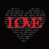Love Heart Poster by Anna Quach