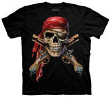 Youth: Skull & Cross Muskets T-shirty