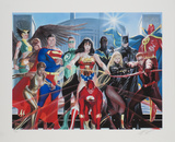 Justice League of America Limited Edition by Alex Ross