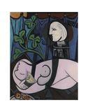 Nude, Green Leaves and Bust, 1932 Kunstdrucke von Pablo Picasso