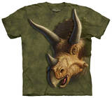 Youth: Triceratops Head Shirt