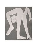 L'acrobate (The Acrobat) Kunst von Pablo Picasso