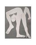 L'acrobate (The Acrobat) Poster von Pablo Picasso