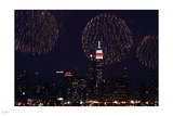 Fireworks over New York II Photographic Print by Nigel Barker