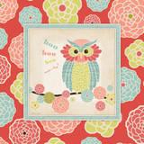 Owl 1 Frame Posters by Stephanie Marrott