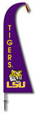 NCAA Louisiana State Tigers Feather Flag Flag