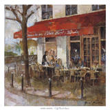 Café Saint-Louis Prints by Noemi Martin
