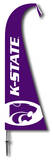 NCAA Kansas State Wildcats Feather Flag Flag