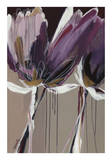 Aubergine Splendor II Poster af Angela Maritz