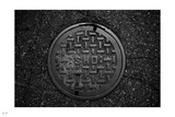 Manhole Photographic Print by Nigel Barker